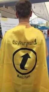 The infamous cape!